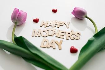 Arreglo para el día de la madre con rosas