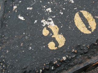 asfalto sucio