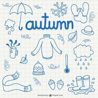 Garabatos de otoño