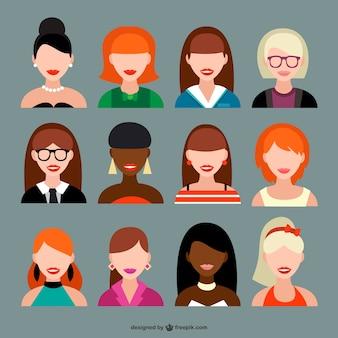 Colección de avatars