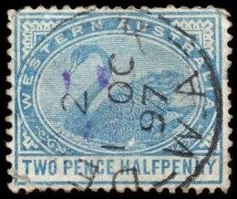 azul cisne sello