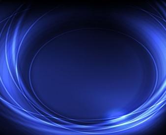 Azul vector de fondo abstracto creativo