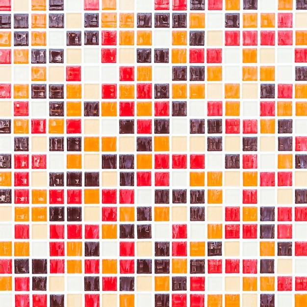 azulejos de colores de la rejilla de color abstracta