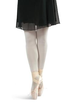 Bailarín en zapatos de ballet