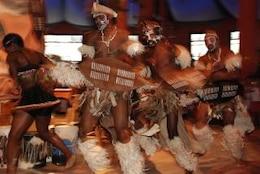 bailarines zulu