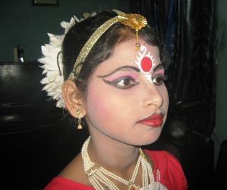 Baile bailarina india