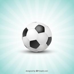 Balón de fútbol con estrellas