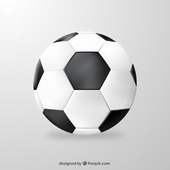 Balón de fútbol realista