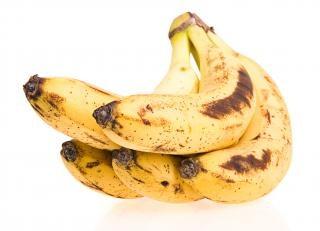 Banano, primer plano