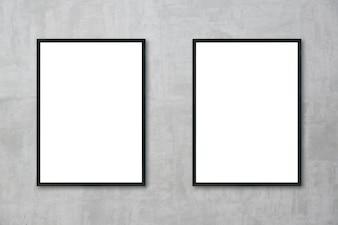 Bandera de la configuración de la pared horizontal hasta