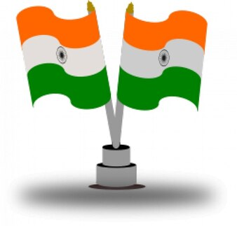 bandera de la India