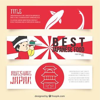 Banderas japonesas