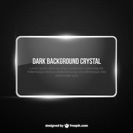 Banner de fondo oscuro