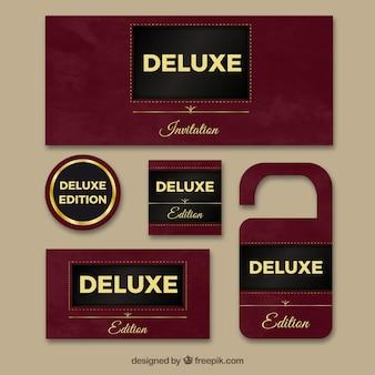 Banners de lujo