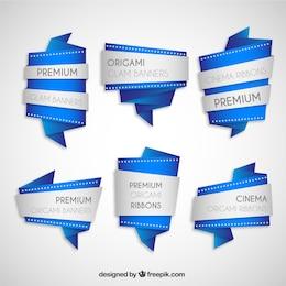 Banners de origami premium