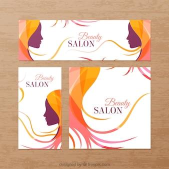 Banners de salón de belleza
