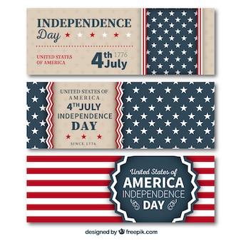 Banners Día de la Independencia
