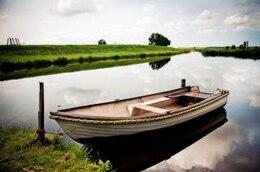barco con remos