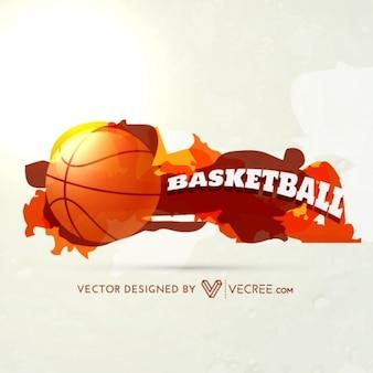 Diseño del deporte del baloncesto