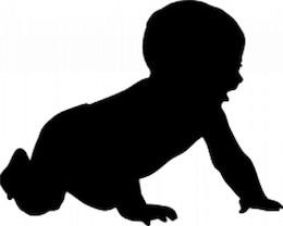 bebé silueta