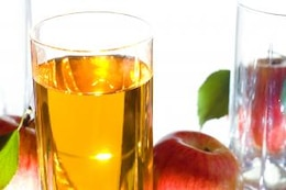 bebida de zumo de manzana