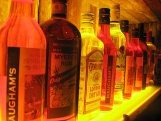 bebidas alcohólicas en la casa, la bebida