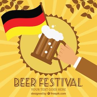 Plantilla de fiesta de la cerveza
