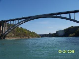 belleza del río Niágara, la pureza