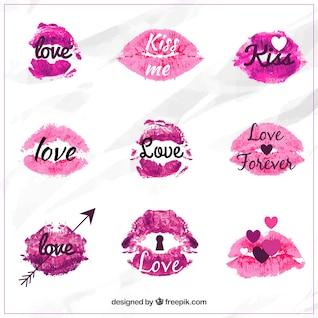 Besos de San Valentín