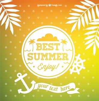 Mejor vector verano