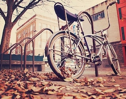Bicicleta encadenada