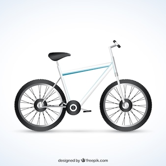 bicicleta realista
