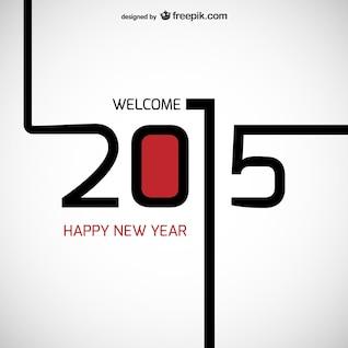 Bienvenido 2015 vector