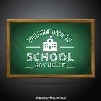 Bienvenido de nuevo al colegio