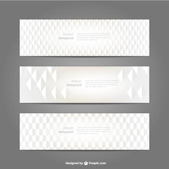 Pack de banners minimalistas
