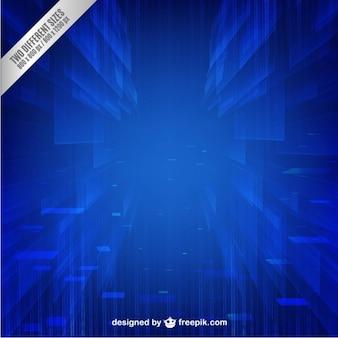 Tecnología azul de fondo vector libre