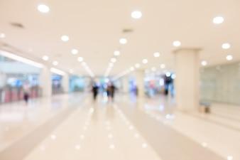 Blur centro comercial