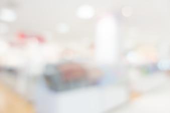 Blur hospital y clínica interior