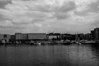 Barcos y edificios