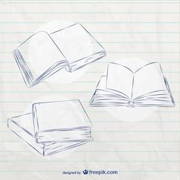 Bocetos de libros