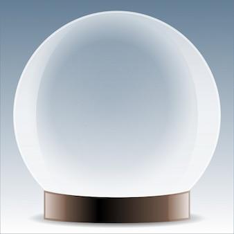 bola de cristal futuro vista cristal mágico