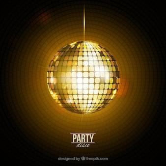 Bola de discoteca brillante