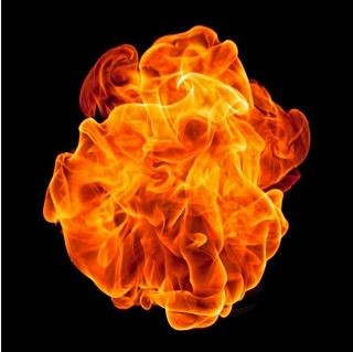 Bola de fuego peligro