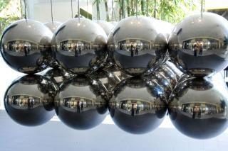 bolas de metal, Florida, enero 2007