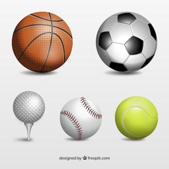 Bolas del deporte