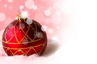 Esferas navidenas fotos y vectores gratis for Arbol de navidad con bolas rojas