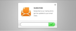 Boletín limpia Email Suscripción PSD