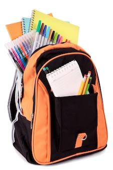 Bolsa para la escuela con accesorios