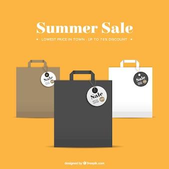 Bolsas de la compra venta de verano