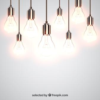 Bombillas brillantes